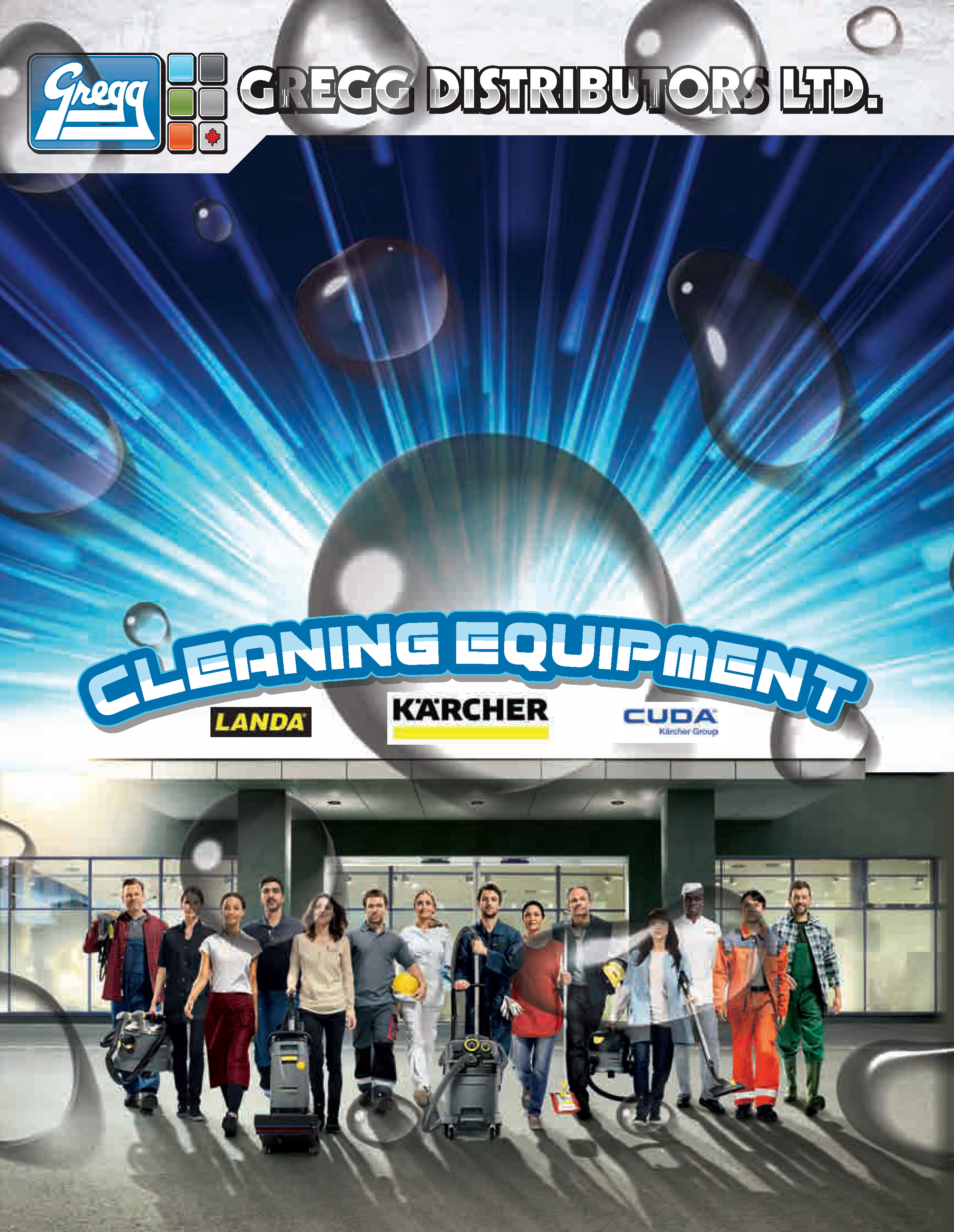 Gregg's Karcher Cleaning Equipment Catalogue Catalogue Cover